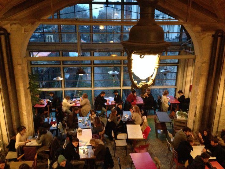 La REcyclerie Café en plein air à Paris, Île-de-France 83 boulevard Ornano
