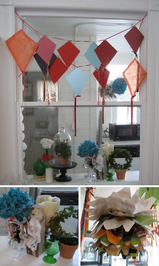 More kite decor fundraising event ideas pinterest for Decoration kite
