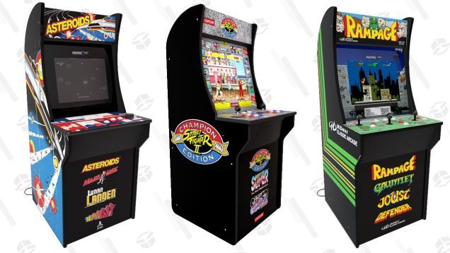Preorder Arcade1up S Stunning New Arcade Cabinets For 299 Instead Of The Expected 399 Arcade Cabinet Arcade Arcade Games