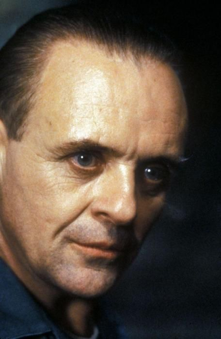 Sir Anthony Hopkins, Dr. Hannibal Lecter, The Silence of the Lambs
