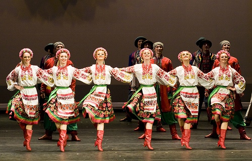 Don't miss the traditional dances while in Ukraine.