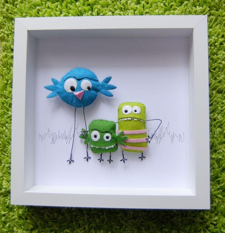 Framed monsters
