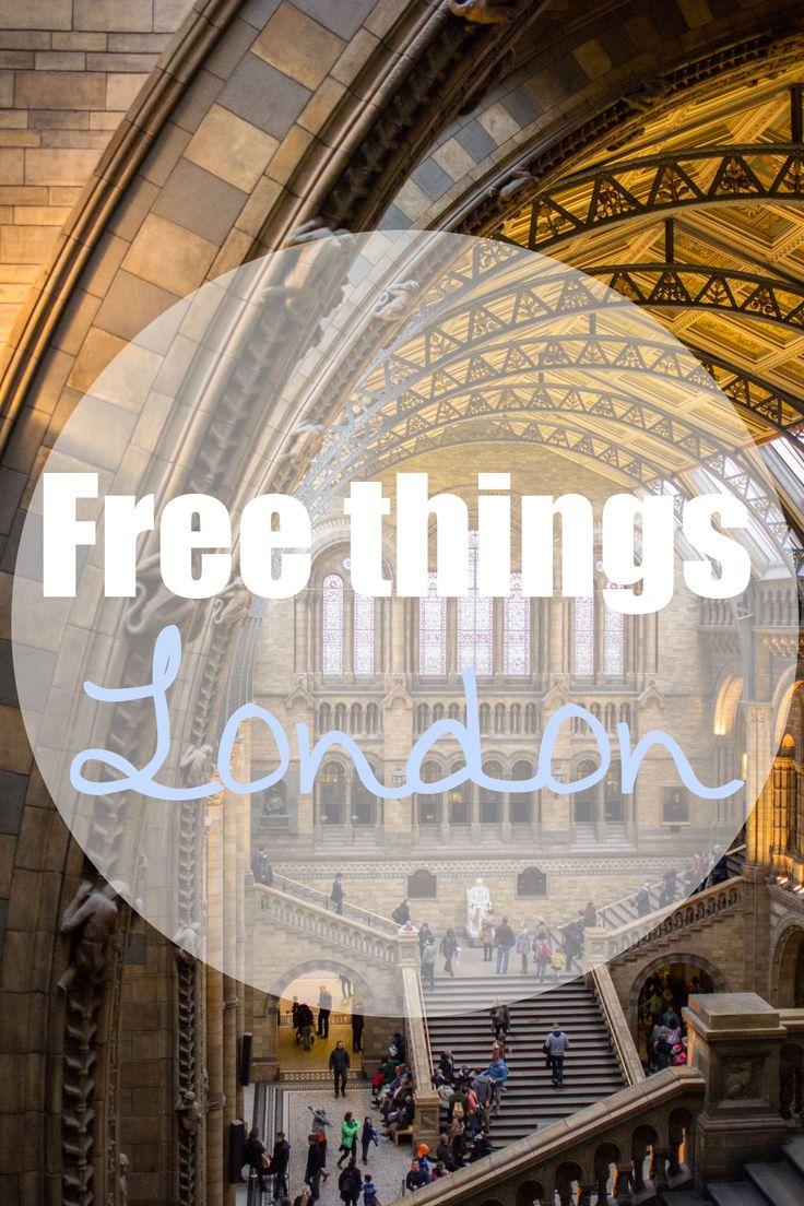 London – 27 Dinge, die völlig umsonst sind