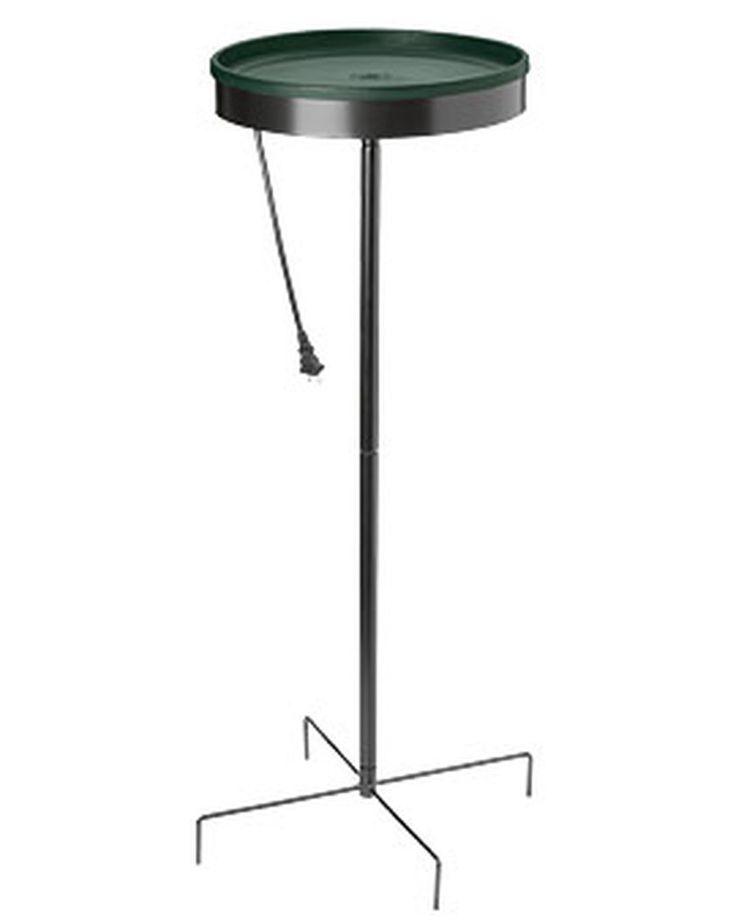 Standing Heated Bird Bath | Bird Bath Heater | Gardener's Supply