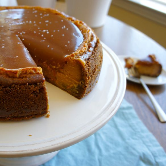 Salted Caramel Cheesecake 4 | Recipes | Pinterest
