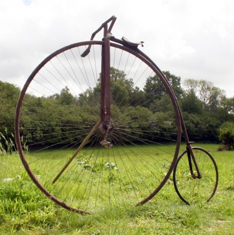 """""""Ordinary Penny-farthing"""" ca 1876"""