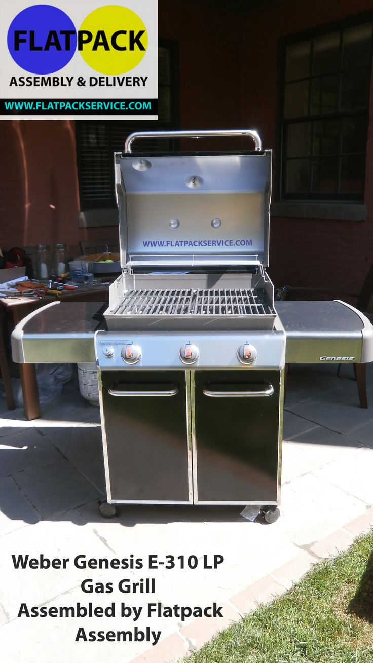 Gas Grill Assembly Flatpack Assembly Service • Flatpack