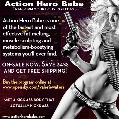 Action Hero Babe was originally designed for my client Rachel Nichols, to get her in shape for her role in G.I. Joe: Rise of Cobra.  Rachel had so much success with this program and looked so hot, that I decided to make Action Hero Babe available to anyone looking to build lean, sexy, muscle in just 8 weeks.    Action Hero Babe is on-sale for a limited time, with free shipping. Invest your time, money & energy in this program, and you'll look fantastic, feel amazing and you'll never be the same!: It Work