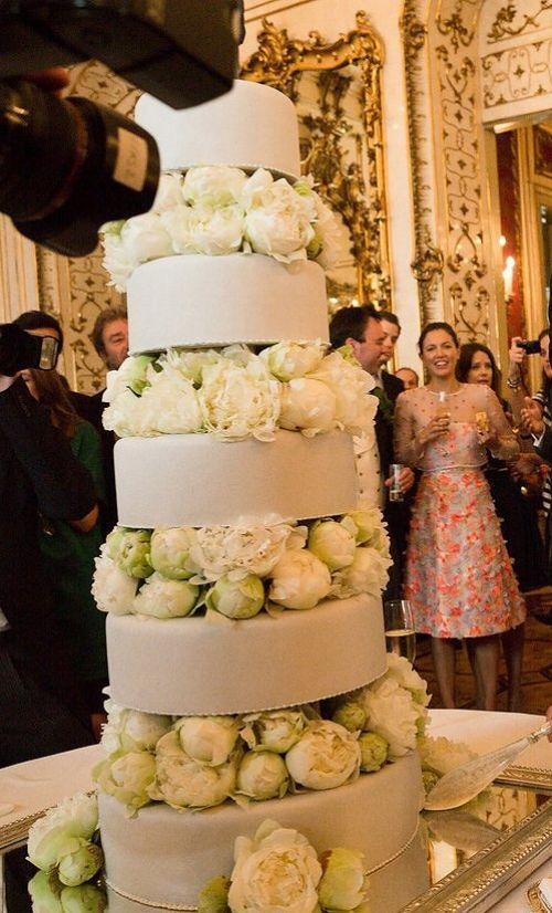 Caroline Sieber and Fritz von Westenholz's wedding in Vienna, Austria.