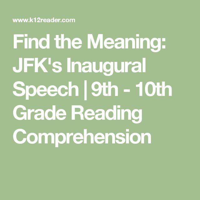 best inaugural speech ideas john kennedy find the meaning jfk s inaugural speech