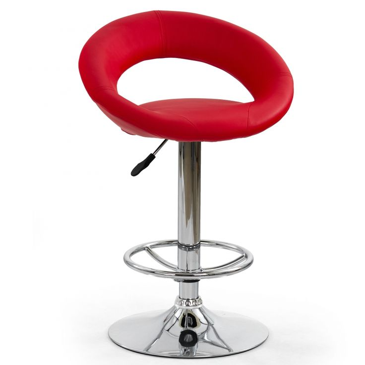 Barová židle Gardiner - červená