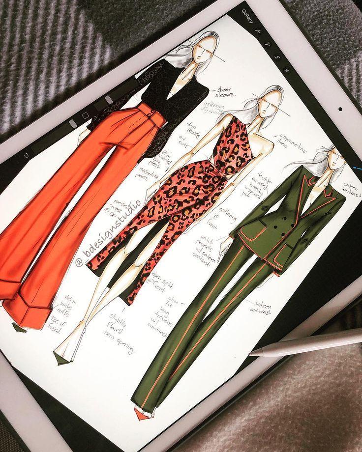 "@_bdesignstudio on Instagram: ""Weekend sketching on iPad Professional with Mark Brodhub…"