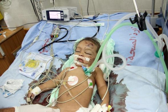 A 10 month old baby girl has been murdered in GAZA by israeli air strike SO far 4 children have been killed