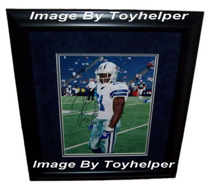 Julius Jones Signed Picture Photo w/ COA Dallas Cowboys Football Running Back  #DallasCowboys
