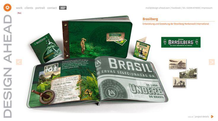 Entwicklung der Brasilberg Markenwelt
