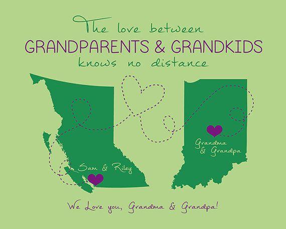 ec9ca01d Grandparents Quote, Custom Gift for Grandma and Grandpa, Popular Gifts,  Grandmother, Grandchildren, Snowbirds, Canada, Mom and Dad | WF308 | Gift  Ideas ...