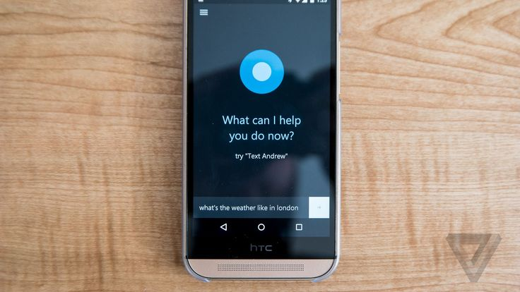Microsoft's Cortana assistant now available on iOS and Android | The Verge