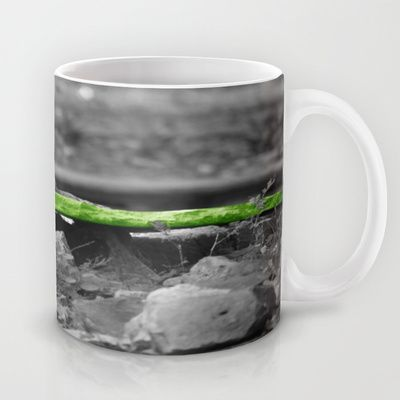 Squirrel Time in Green I Mug by Angelika Kimmig - $15.00