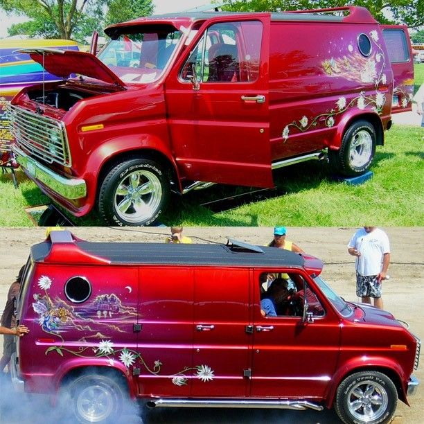 """Guardian Angel"" 1977 Ford Econoline Custom show van"
