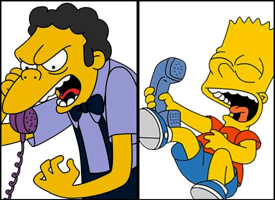 bart,s prank call | Simpsons Prank Calls Soundboard app is a complete collection of prank ...