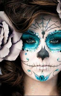 Halloween Horror Makeup Looks and Ideas 17