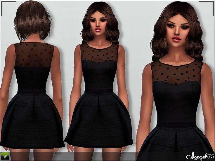 sims 2 maxi dress sleeves