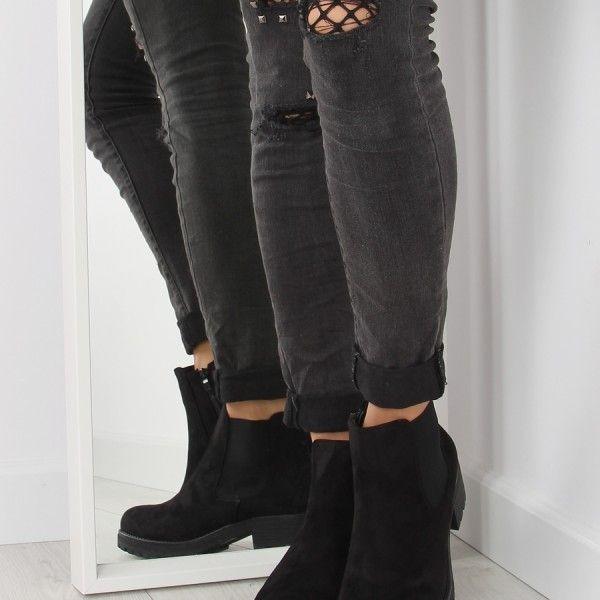 b47002d4e elegantne-damske-topanky-zimu-ciernej-farby (1)   Dámska zimná obuv ...
