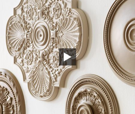 Ceiling Medallion Wall Art best 25+ ceiling medallions ideas on pinterest | televisions for