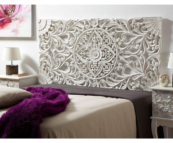 M s de 25 ideas fant sticas sobre camas rusticas de madera - Cabeceros de cama vintage ...