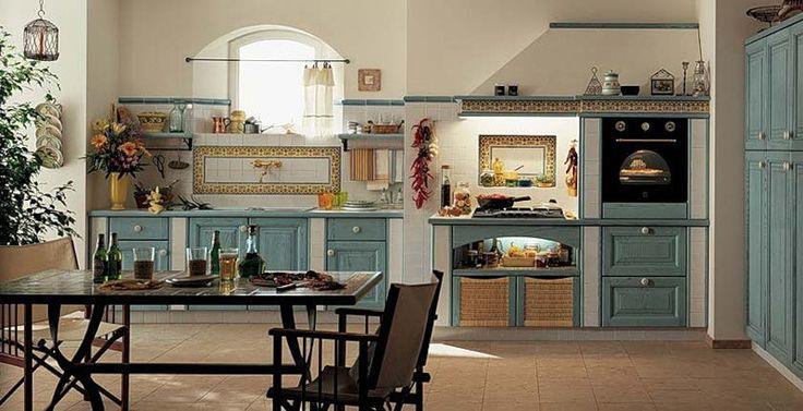Кухня В Стиле Кантри Без Верхних Шкафов: 20 Тыс Изображений