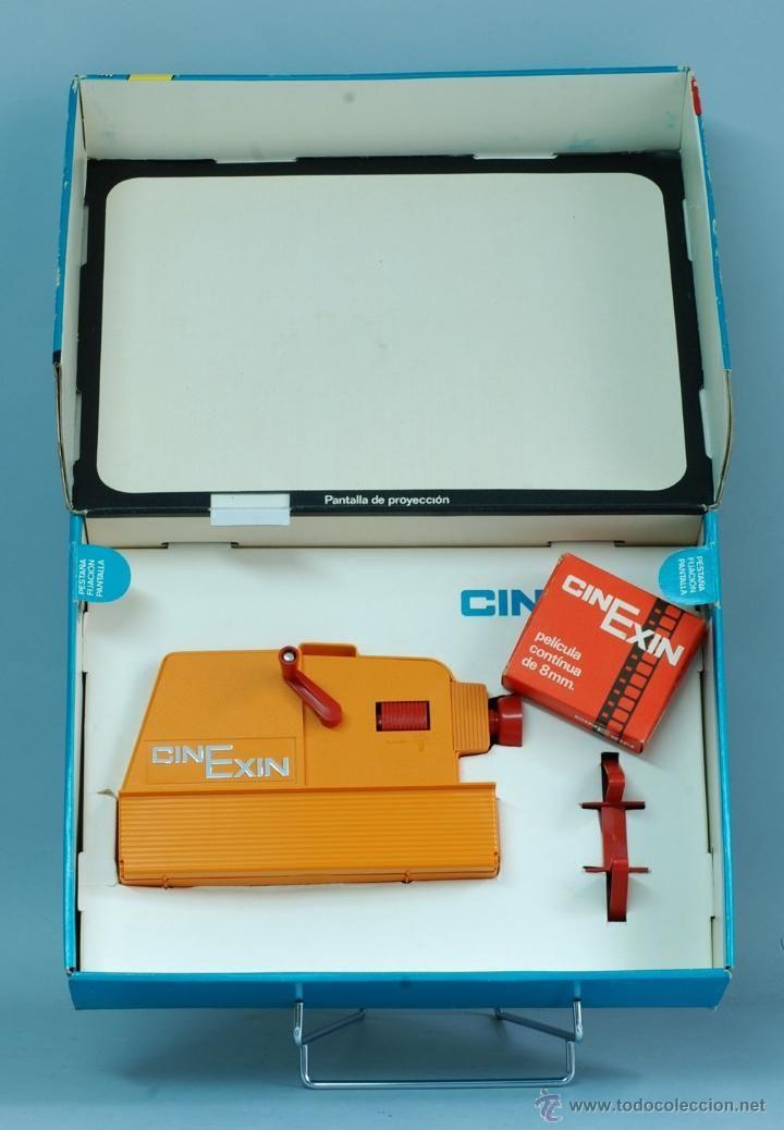 Cine Exin Proyector 8 mm años 70