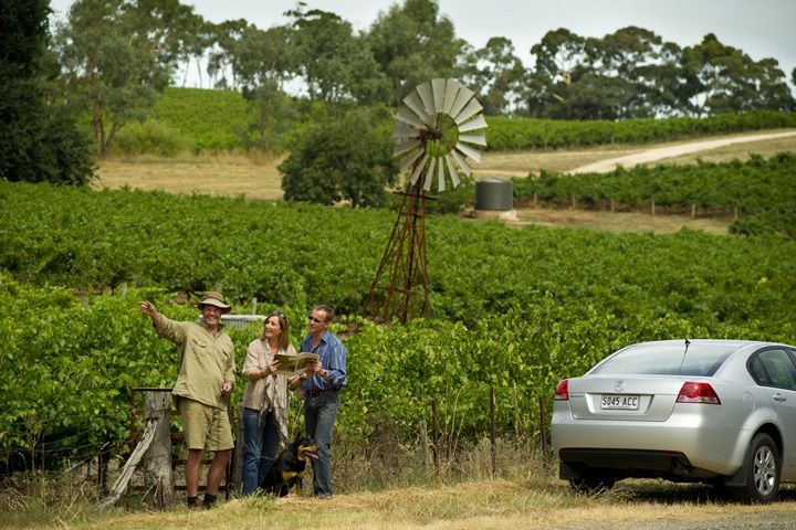 Clare Valley brochures and maps