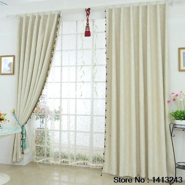 Cortinas cortas para ventanas beautiful cortina de - Cortinas opacas baratas ...
