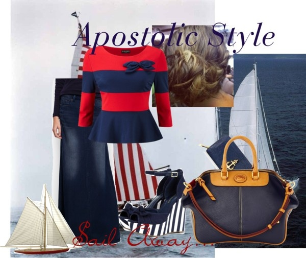 """Sail Away; Apostolic Style"" by emmyholloway on Polyvore"