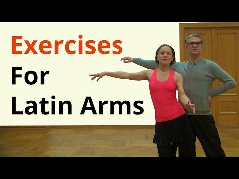 Basic Arm Exercises for Latin Dancing - YouTube