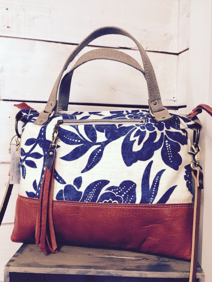 Blue love ... The Traveler bag is a good companion!