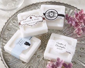 Personalized Scented Soap (Set of 12) (Wedding) BULK DISCOUNT