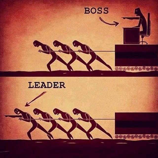 Care este diferența dintre un șef și un lider