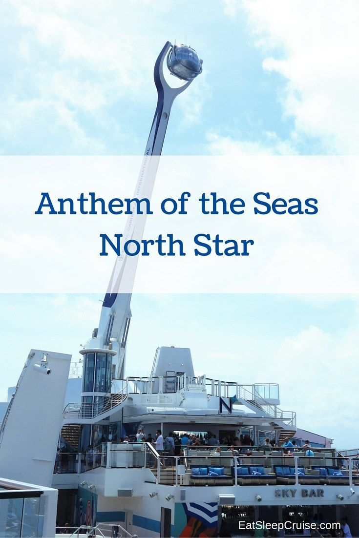 Anthem of the Seas North Star Photo Review with a lovely bird's eye view of Bermuda!