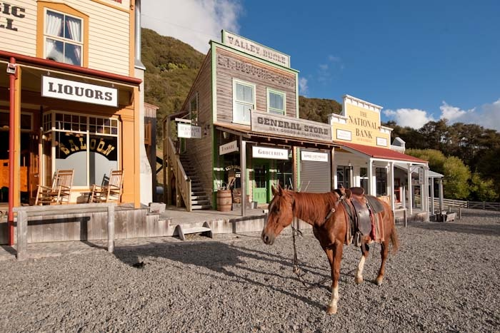 Mellonsfolly (cowboy) Ranch out of Raetihi.  A fun holiday for all the family