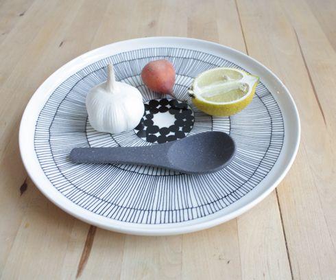 Japans aardewerk lepel