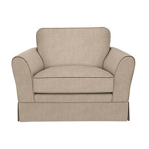 Buy John Lewis Nelson Armchair, Fraser Putty Online at johnlewis.com