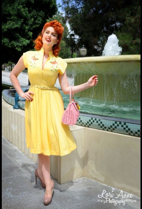 yellow dress by diva definition