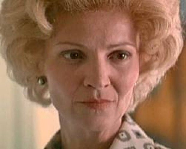 Actress Joan Allen as First Lady Pat Nixon in Oliver Stone's