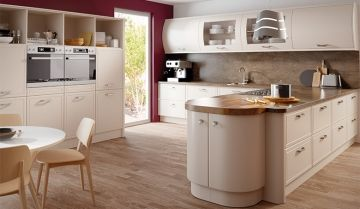 Bella Euroline Matt Kitchen - By BA Components, kitchen doors, interior design