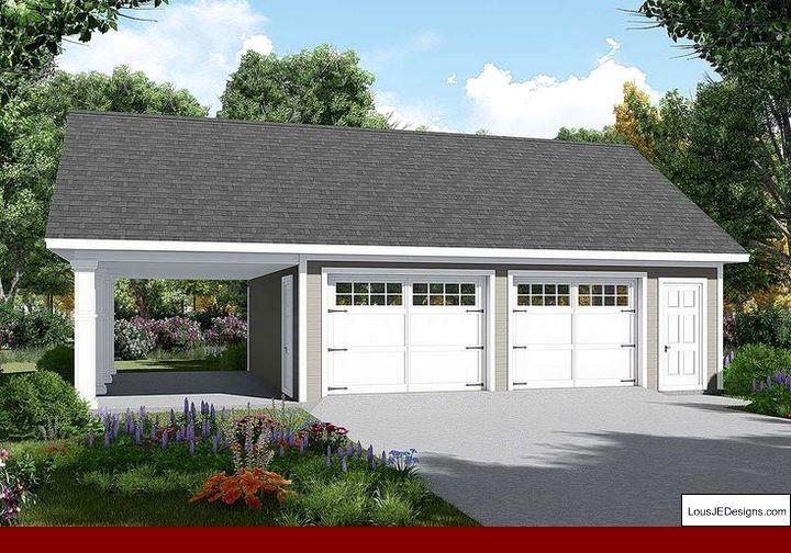 How To Create Your Own Garage Workshop With Images Garage Plans Detached Garage Door Design Garage Plan
