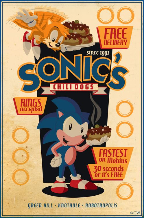 Sonic's chili dogs!