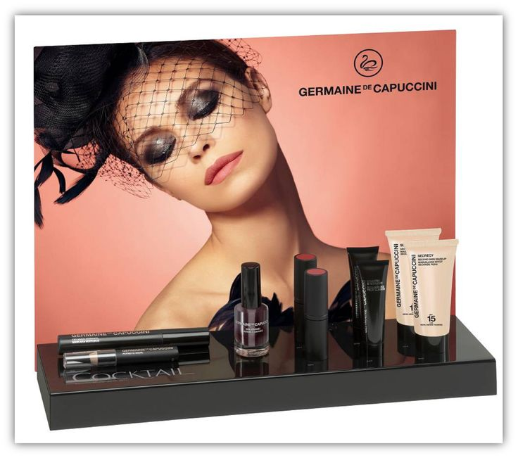 Nieuwe make up collectie Germaine de Capuccini! Cocktail! The Great Gatsby look