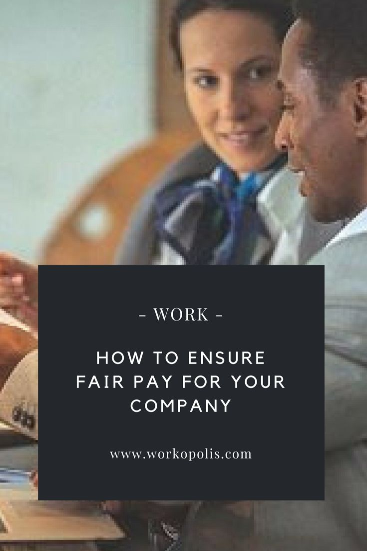 How to ensure fair pay for your employees