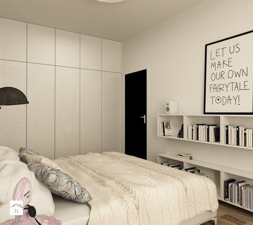 Średnia sypialnia małżeńska, styl skandynawski - zdjęcie od design me too